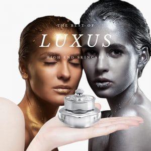 Luxus par excellence: hochkarätige Wirkstoffkosmetik