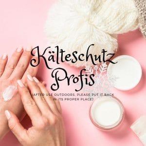 Zuverlässiger Kälteschutz für sensible Haut bei Minustemperaturen