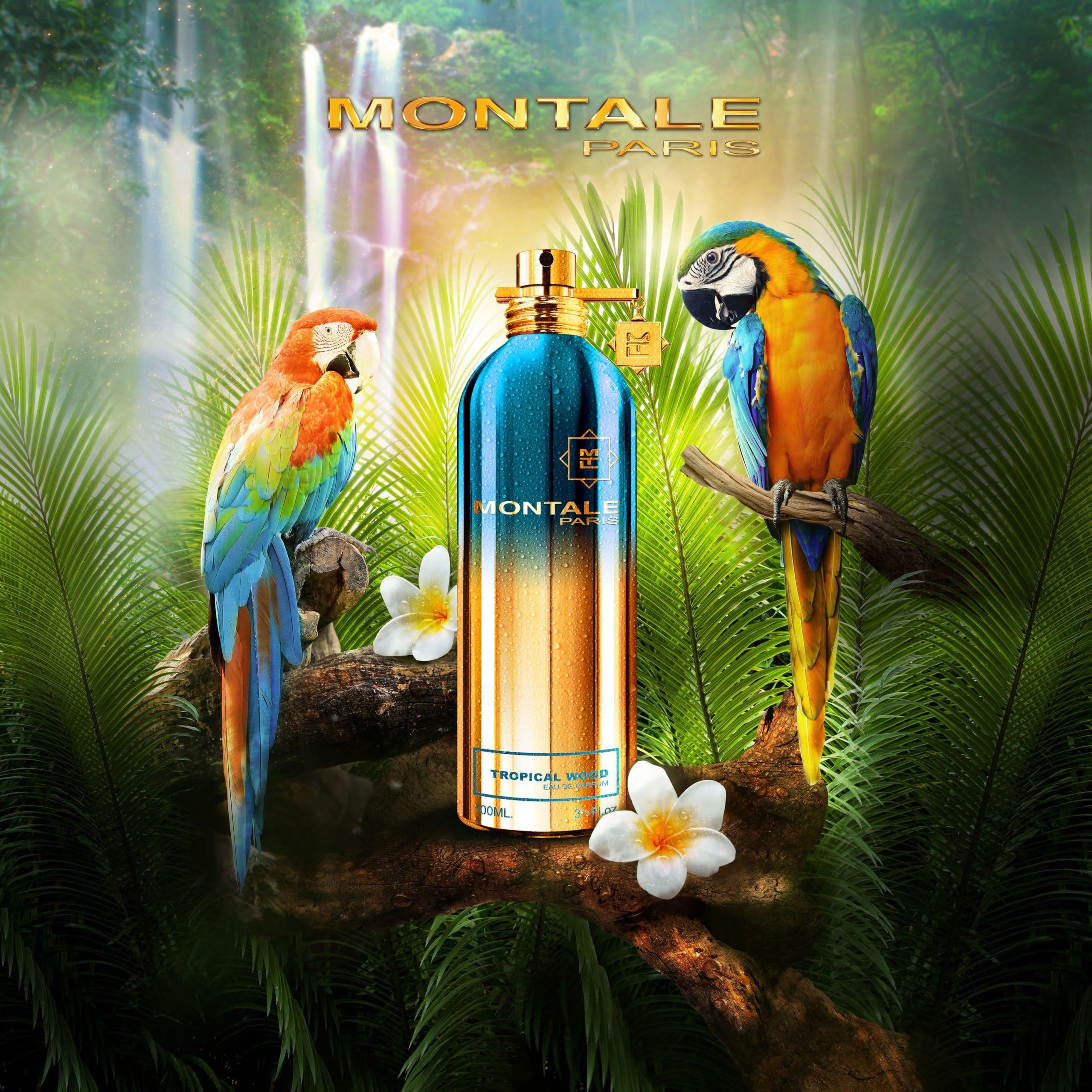 © MONTALE Paris Tropical Wood - exotisch florale Oud-Kreation