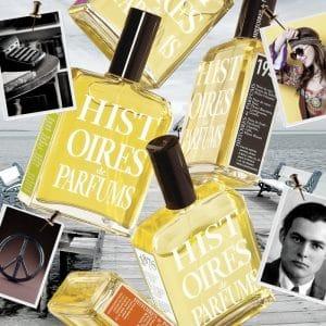 © HISTOIRES de PARFUMS - avantgardistische Unisex-Duftcodes im Buchcover-Design
