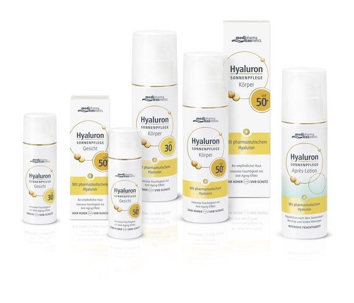 © medipharma cosmetics Hyaluron Sonnenpflege