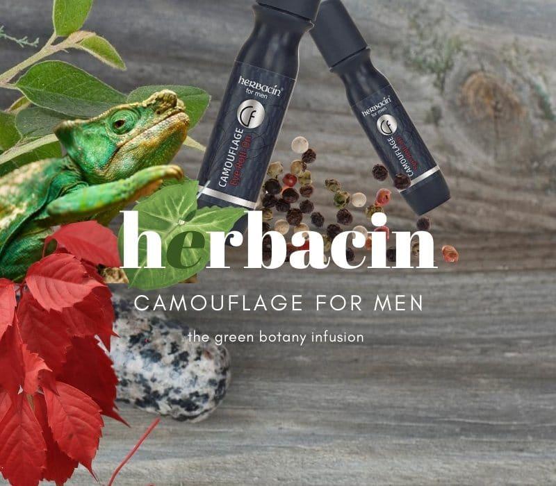 Herbacin Camouflage Männerkosmetik – Fitmacher aus dem Kräutergarten