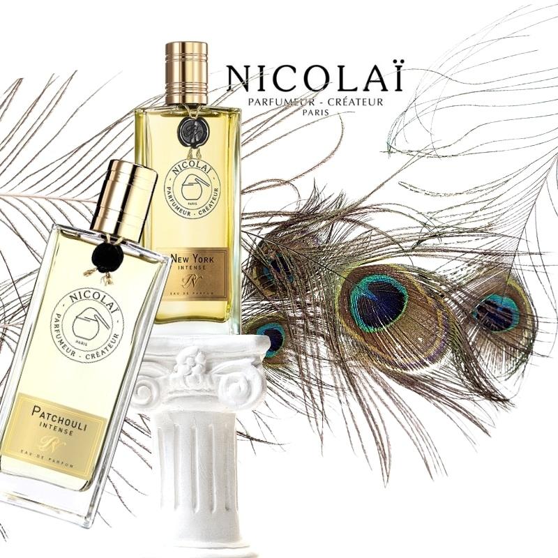 © Les Parfums de NICOLAÏ Patchouli Intense & New York