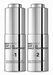 © BIOEFFECT Iceland EGF + 2A Daily Treatment - Duo-Power zur Faltenglättung und Schadstoffabsorbtion