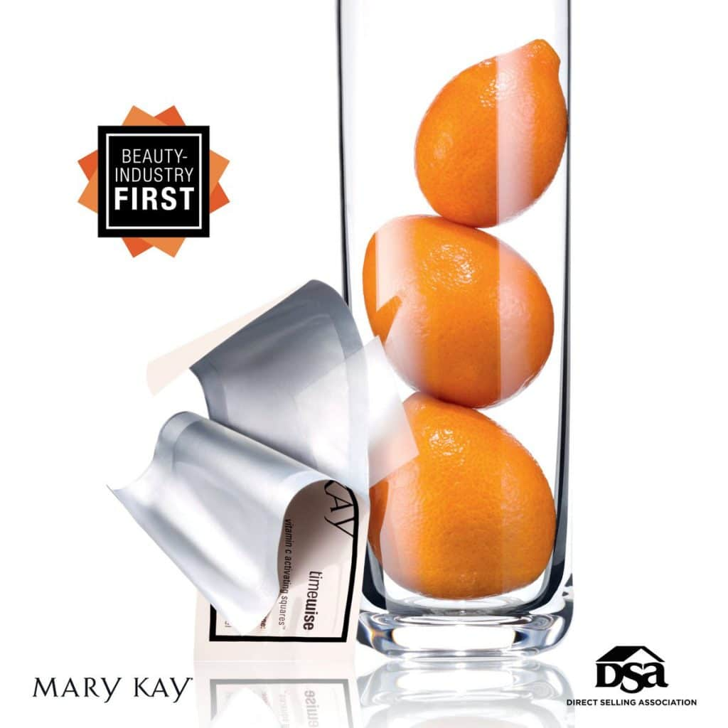 © MARY KAY TimeWise Vitamin C Activating Squares - pure Vitamin C-Dosis im hygienischen Mikro-Patch
