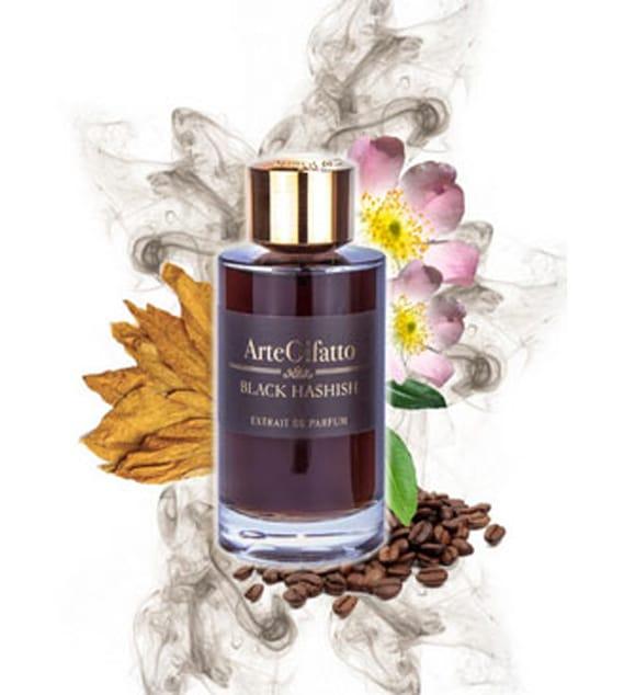 © ArteOlfatto Luxury Perfumes BLACK HASHISH - schwarz vernebelte Parfüm-Umarmung