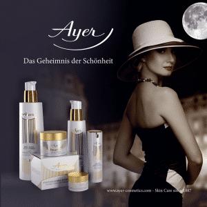© AYER Cosmetics - sinnlicher Pflegeluxus seit 1887