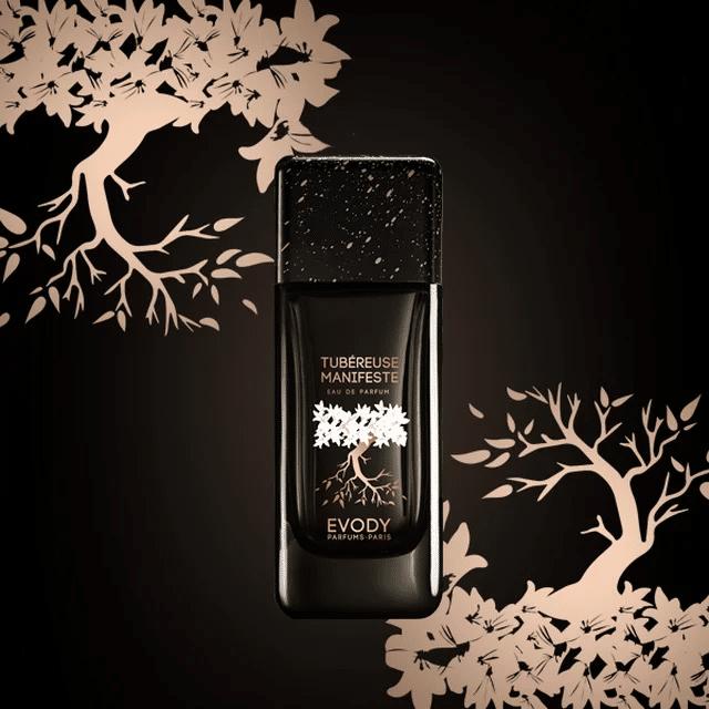 © EVODY Parfums Paris COLLECTION GALERIE Tubéreuse Manifeste