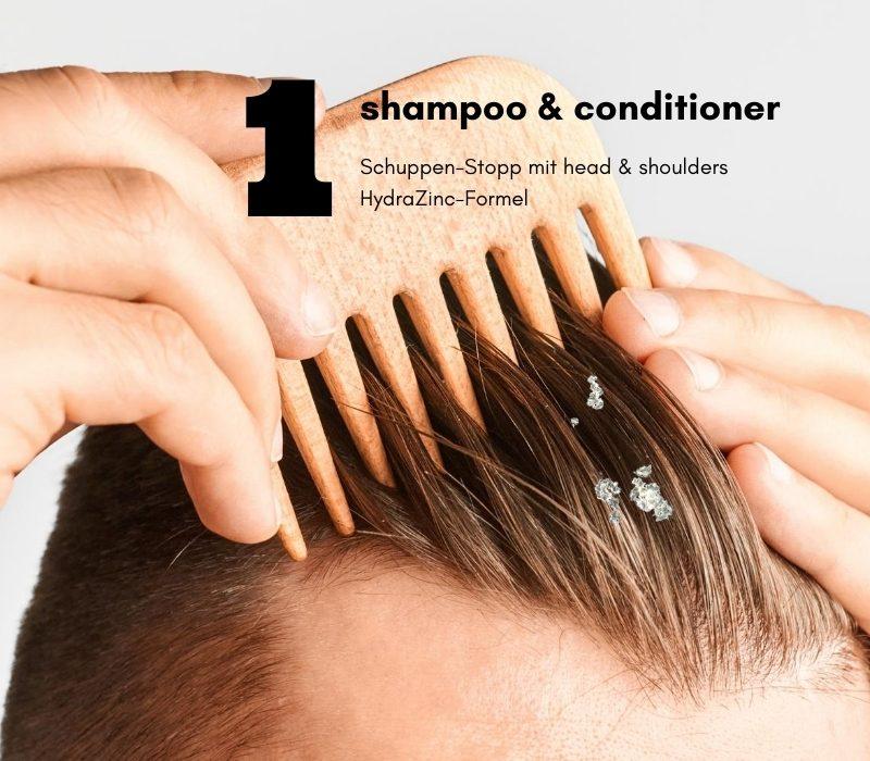 Was tun bei juckenden Kopfhautschuppen?