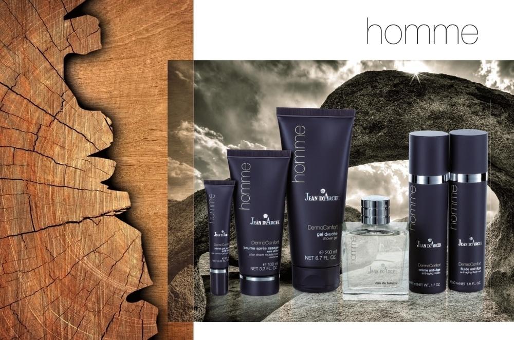 © JEAN D'ARCEL homme DermoConfort - Anti-Aging-Kraftpakete aus der Kosmetikforschung