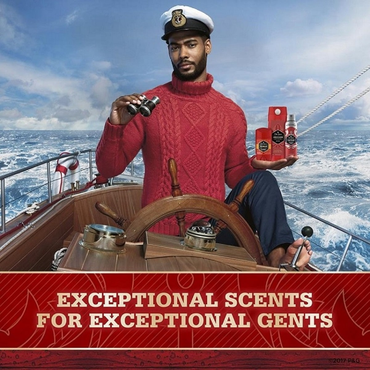 © Old Spice Red Collection CAPTAIN