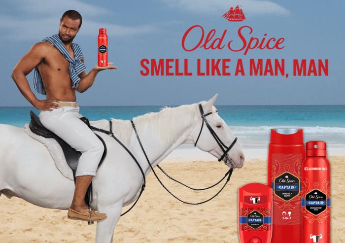 Old Spice CAPTAIN Red Collection – Aqua-Splash für Freibeuter der Meere