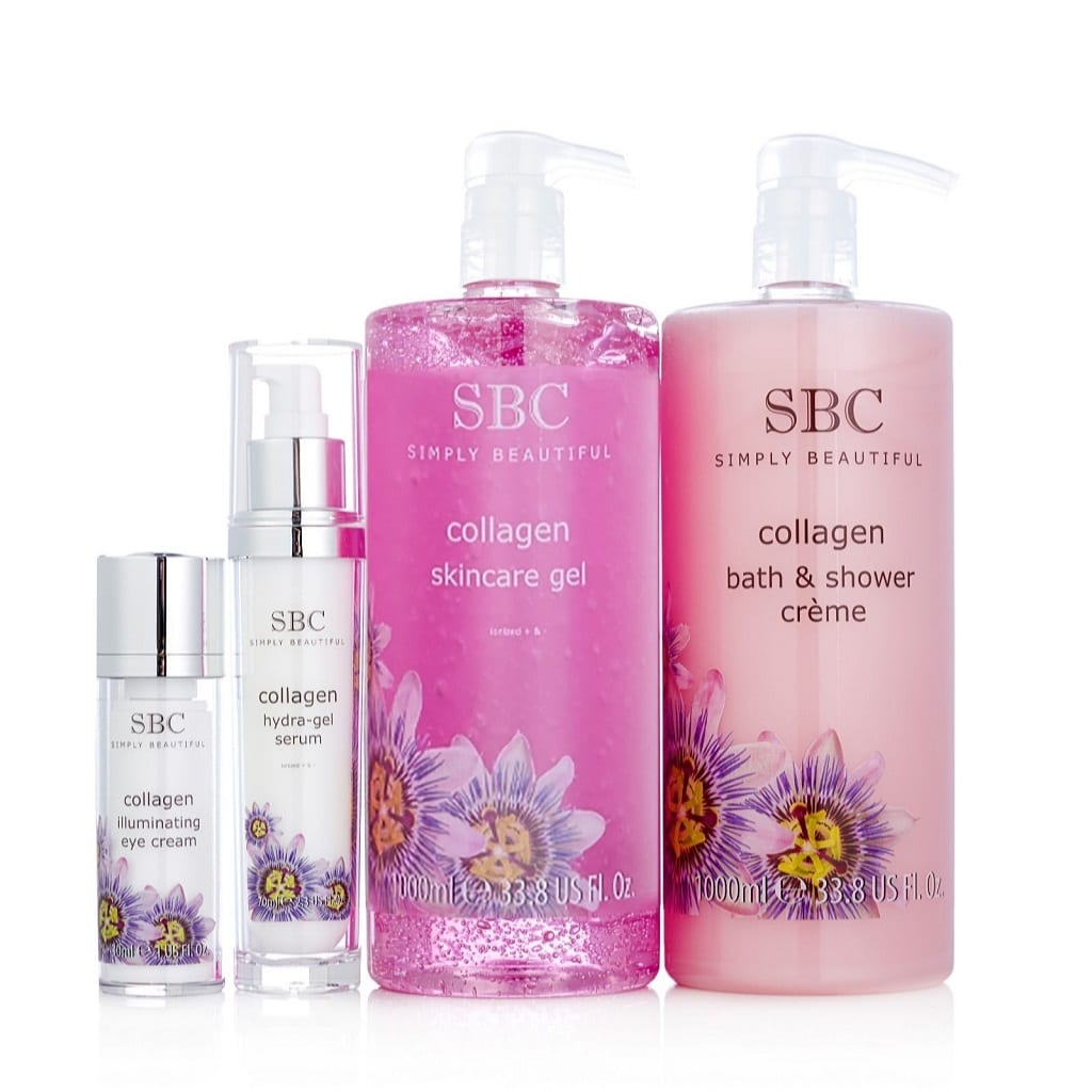 © SBC The Collagen Collection - Meereskollagen-Blütentraum in Rosarot