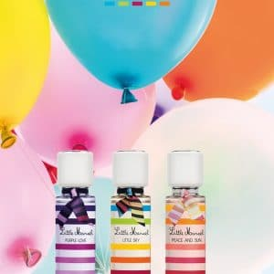 © Little Marcel Parfums - ein fröhlich-buntes Fashion-Trio für swingende Girlspower