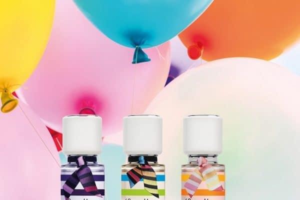 © Little Marcel Parfums - ein fröhlich-buntes Fashion-Trio für swingende Girlspower