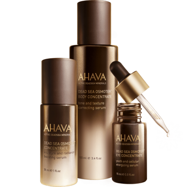 © AHAVA Dead Sea Crystal Osmoter X6 Kollektion