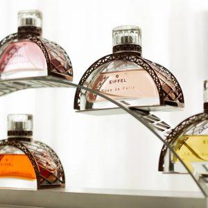 © GUSTAVE EIFFEL Parfums - skulpturaler Art nouveau am Duftflakon