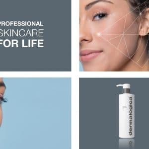 © Dermalogica® Services - patentierte Face Mapping-Hautanlayse durch Pflegeprofis