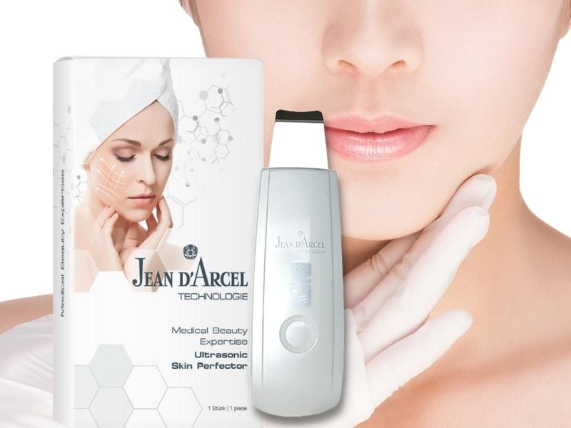 JEAN D'ARCEL Ultrasonic Skin Perfector – 2-in-1-Handgerät mit Ultraschall