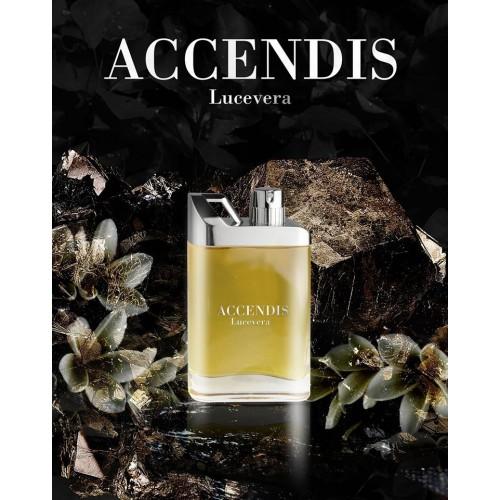 © ACCENDIS Perfumes Black Collection LUCEVERA mit grün-fruchtigen Gourmand-Noten
