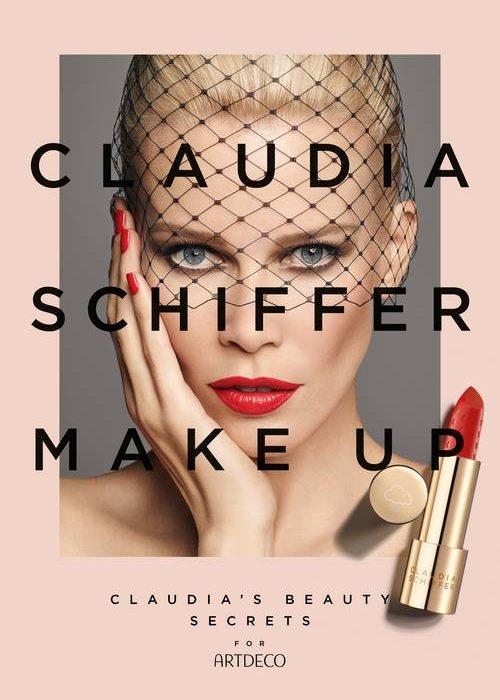 Claudia Schiffer Capsule Collection for ARTDECO