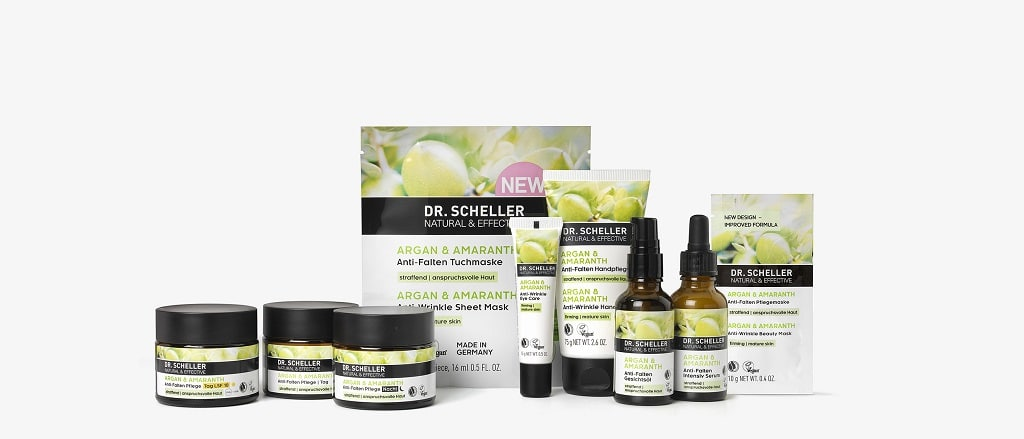 © DR. SCHELLER NATURAL & EFFECTIVE Argan & Amaranth