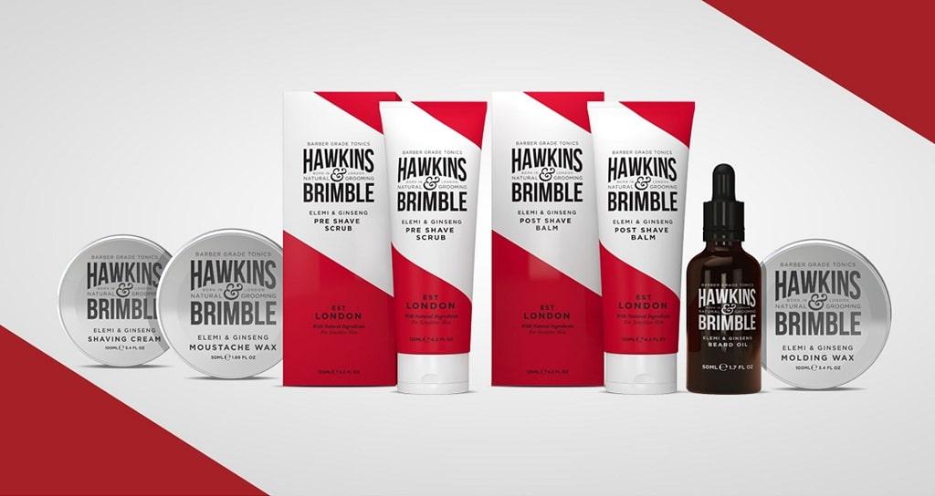 Hawkins & Brimble London – Vintage-Shaving ganz natürlich
