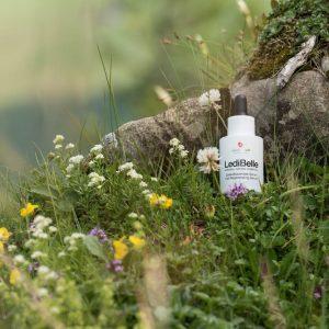 © LediBelle Naturkosmetik- natürlich, vegan und nachhaltig mit Ziegenmolke und Quellwasser aus den Schweizer Alpen