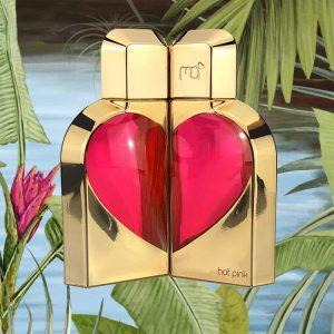 © Manish Arora READY TO LOVE Hot Pink Herz-Duo