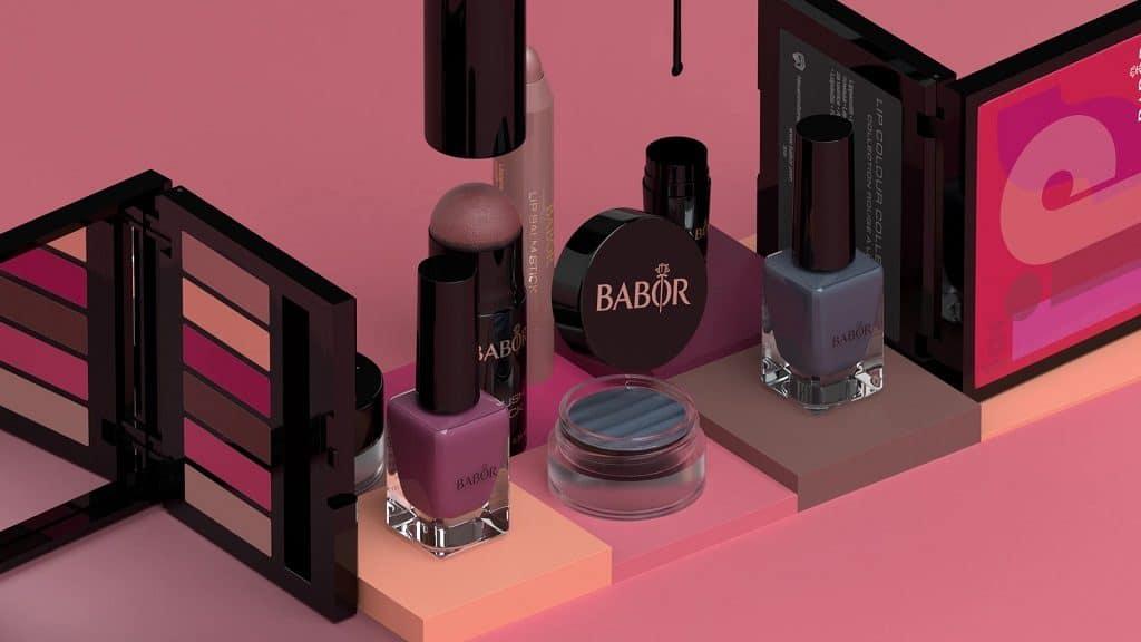 © BABOR AGEID Beautifully Bold FW19 Look-Kollektion
