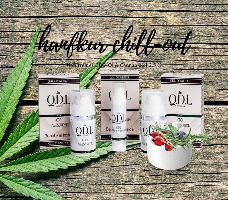 Q.D.L. Cosmetics CBD Skincare – Cannabinoide in naturnaher Studiokosmetik