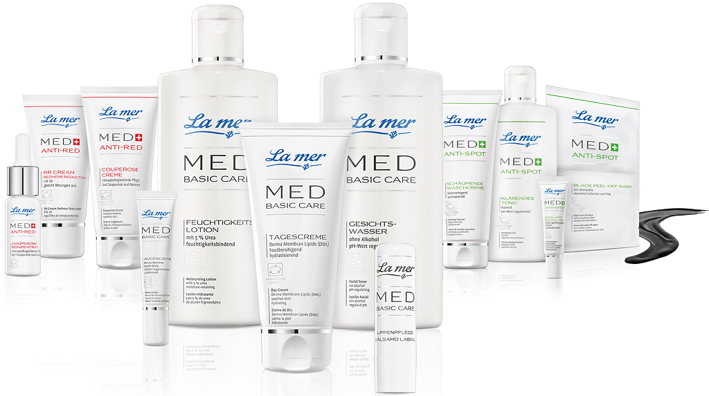 © La mer Cosmetics MED Basic Care