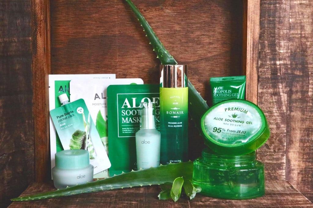 Korean Beauty Box mit Aloe Vera – Grüne Moisture-Power aus Fernost
