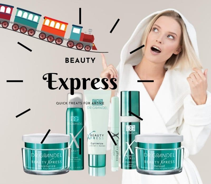 DR. GRANDEL BEAUTY X PRESS – Smartes Pflege-Management für Aktive