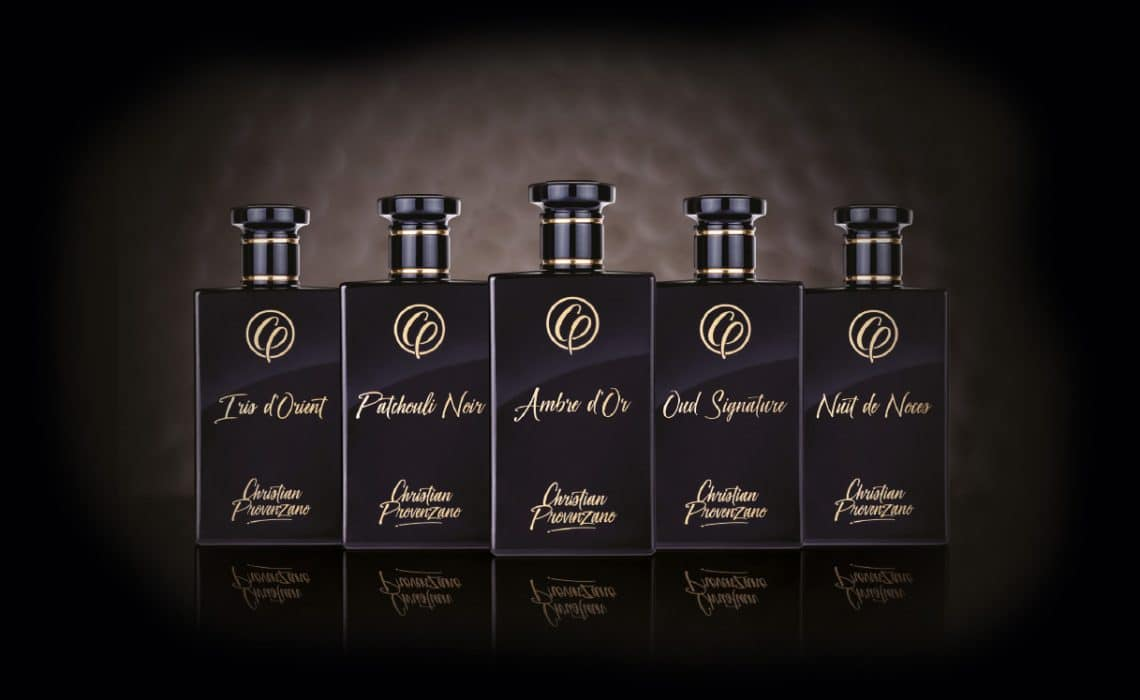 Christian Provenzano Parfums – Goldveredelte Mitternachtsspitzen