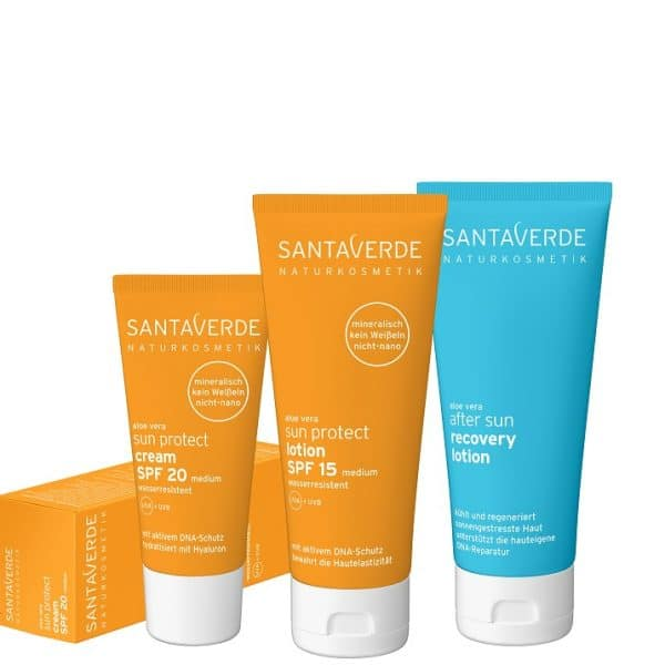 © SANTAVERDE sun protect Sonnencreme & After Sun