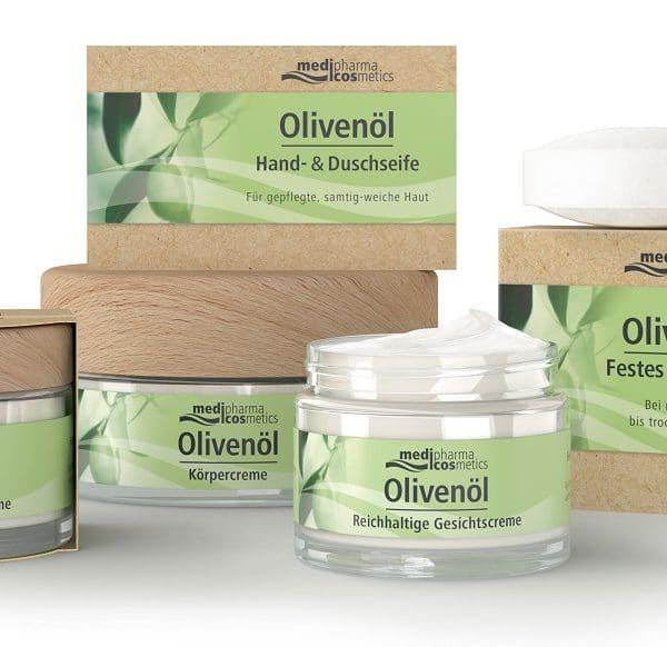 © medipharma cosmetics Bio-Olivenölkosmetik für Gesicht und Körper