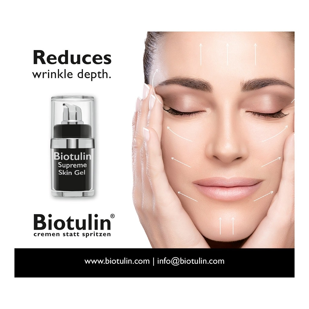 © Biotulin Supreme Skin Gel - der deutsche Facialist to the Stars