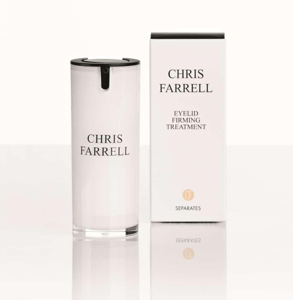 © CHRIS FARRELL Cosmetics - natürliches Lid-Lifting mit SEPARATES EYELID FIRMING TREATMENT