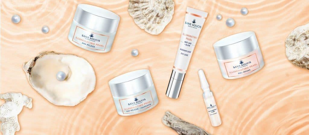 © SANS SOUCIS Cosmetics Illuminating Pearl Gesichtspflege