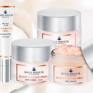© SANS SOUCIS Cosmetics Illuminating Pearl - verjüngender Kollagen-Boost mit Perlenkraft
