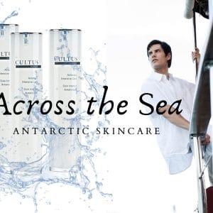 © CULTUS Homme Antarctic Skincare - mariner Protein-Splash aus der Extremkältezone