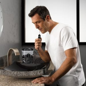 © Waterpik Complete Care Black - ein Zahnpflege-Komplettsystem für den Waschtisch