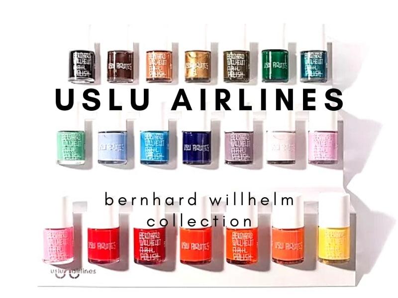 © uslu airlines Berhard Willhelm Fashion Collection
