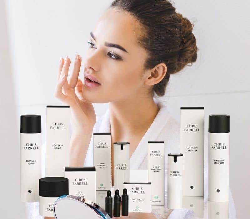 Ganzheitliche Hauterfahrung mit CHRIS FARRELL Cosmetics