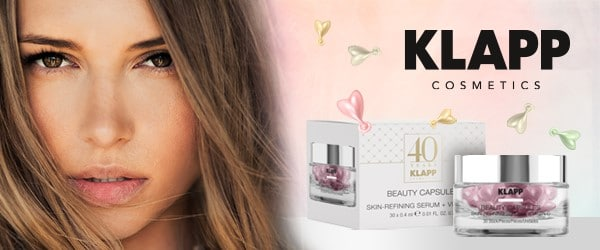 © KLAPP Cosmetics Beauty Capsule Edition Skin-Refining Serum + Vitamin C