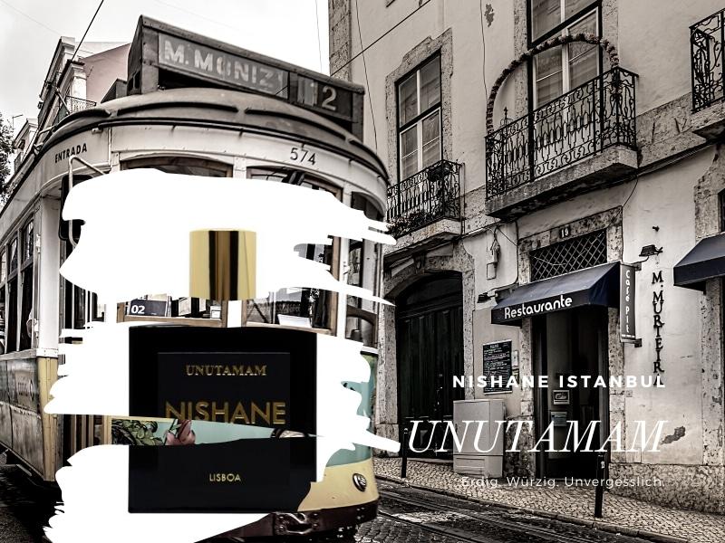 © NISHANE Istanbul UNUTAMAM - Lissabon-Impressionen mit Wacholder, Nelke und Zistrose