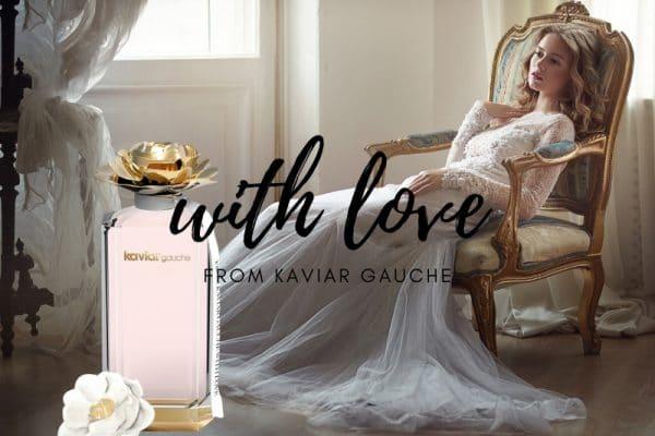 © KAVIAR GAUCHE WITH LOVE Eau de Parfum - ein olfaktorisches Stillleben mit Pfingstrosen und rosa Pfeffer