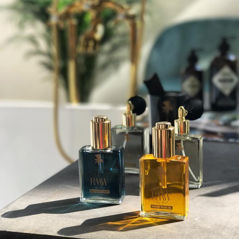 © RAAW By Trice - farbenfrohe organische Face Oils