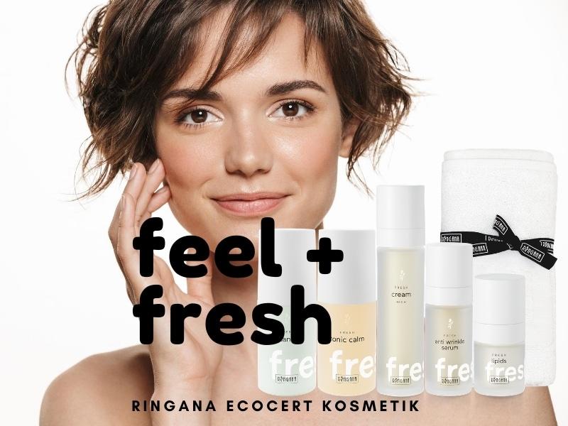 RINGANA Skincare & Supplements – Frischekosmetik mit Klimaschutz-Siegel